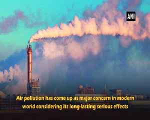 News video: Air pollution increases chronic lung disease risk
