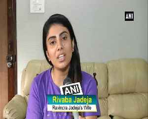 Want Ravindra Jadeja to bring WC trophy to hometown says Wife Rivaba [Video]