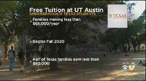 UT Austin Will Provide Free Tuition For Students From Families Earning Less Than 65K [Video]
