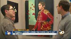 Artist exhibits first works after coming out as transgender [Video]