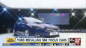Ford recalling Focus cars that may stall while driving [Video]