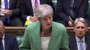 News video: Theresa May: Sir Kim Darroch resignation a matter of great regret