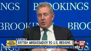 UK ambassador to US quits days after leaked cables on Trump [Video]