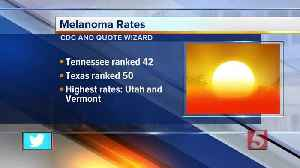 Tennessee has one of the lowest rates of skin cancer in U.S. [Video]