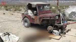 Police Say Nevada Man's Death From Being Pinned Under Jeep is Due to California Earthquake [Video]