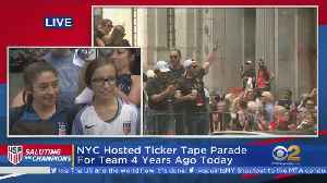USWNT Parade: Fans Stunned By Stars [Video]