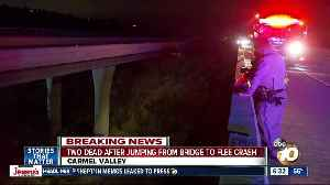 CHP: At least 2 dead after jump from San Diego bridge to flee car crash [Video]