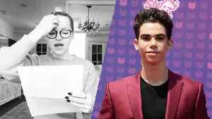 Disney Star Dove Cameron Breaks Down While Paying Tribute to Cameron Boyce [Video]