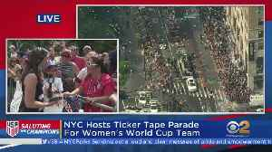 USWNT Parade Rolls Through Canyon Of Heroes [Video]