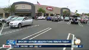 Union leaders, grocery stores meet again in hopes of avoiding strike [Video]
