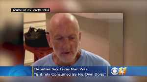 Deputies: 57-Year-Old Texas Man Was 'Entirely Consumed By His Own Dogs' [Video]