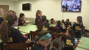 Youth Soccer Camp At Bryn Athyn College Celebrate U.S. Women's World Cup Champions [Video]