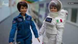 News video: Barbie Launches Doll of Astronaut Samantha Cristoforetti to Inspire Young Girls
