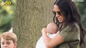 News video: Meghan Markle Cradles 2-Month-Old Archie as He Makes First Public Appearance at Charity Polo Match