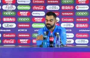 Disappointed Kohli rues 45 minute slump in Manchester [Video]