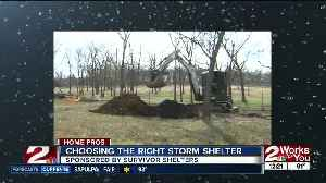 Home Pros: Picking the right storm shelter [Video]