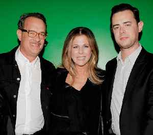 Colin Hanks posts Michael Keaton picture to mark dad Tom Hanks' birthday [Video]