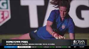 USWNT Goalie Naeher Now An Inspiration [Video]