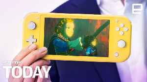 Nintendo's $200 Switch Lite is coming on September 20th | Engadget Today [Video]