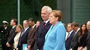 Angela Merkel insists she is 'fine' after third shaking bout in a month [Video]