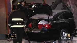 Oakland Officer At Scene Of Crash Into Church Hit By SUV Driver [Video]