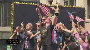 World Champion USWST Celebrated With Ticker Tape Parade In New York City [Video]