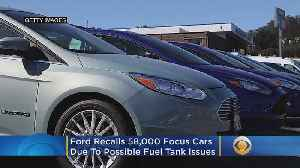 News video: Ford Recalls 58,000 Focus Cars Because Of Possible Fuel Tank Issues