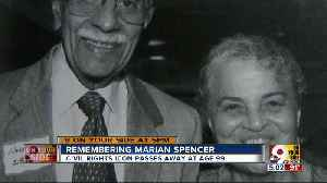 Remembering civil rights activist Marian Spencer [Video]