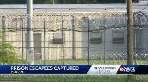 Prison escapees captured in Meridian [Video]