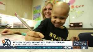 Hospital school allows kids to keep learning [Video]