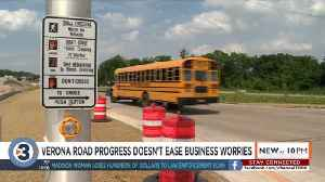 Verona Road project progresses, business owners still feels pains of construction [Video]