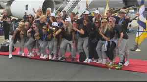 News video: Ready for confetti: Women's World Cup champs to be honored in NYC