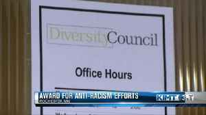 Award for Anti-Racism Efforts [Video]