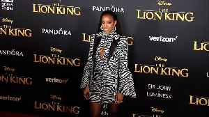 Kelly Rowland 'The Lion King' World Premiere Red Carpet [Video]