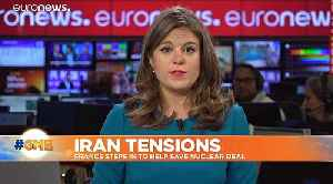 News video: Iranian boats 'harass' British tanker in the Gulf - U.S. officials