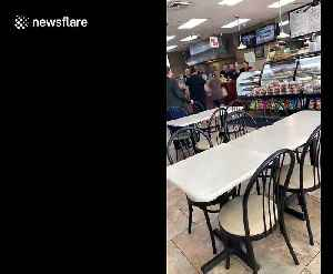 Bagel man's epic meltdown continues [Video]