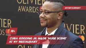Cuba Gooding Jr Was The Talk Of This Restaurant [Video]