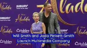 Will Smith and Jada Pinkett-Smith Launch Multimedia Company [Video]