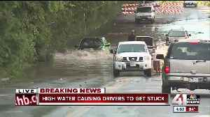 Emergency crews deal with water rescues, fires after morning storms [Video]