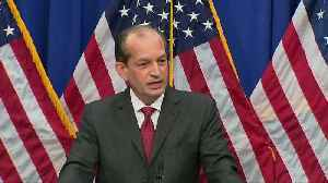News video: Labor Secretary Acosta defends Epstein plea deal