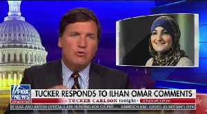 News video: Tucker Carlson counterattacks Omar, Part 2