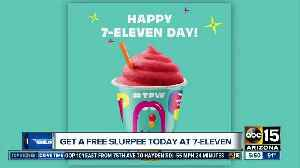 Thursday is 7-11 day, which means free slurpees! [Video]
