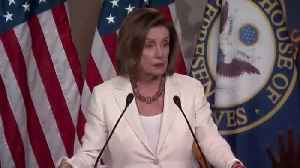 Pelosi snaps at reporting haranguing her about AOC [Video]