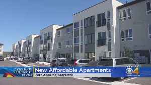 Affordable Housing Complex Complete In Stapleton [Video]