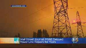 PG&E Ordered To Respond To Damning Report Alleging Willful Failure To Fix Transmission Lines [Video]