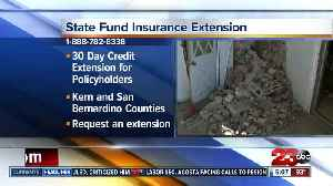 California extends state fund insurance extension, mental health services for earthquake victims [Video]
