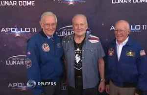 Moonwalker Buzz Aldrin, former NASA astronauts attend Apollo 11 live show in Pasadena [Video]