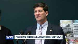 Erie County Executive Mark Poloncarz comes out against Green Light law [Video]