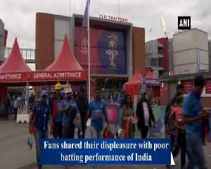 Fans meltdown after India's exit from World Cup [Video]