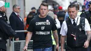 Tommy Robinson Jailed For 9 Months For Contempt Of Court [Video]